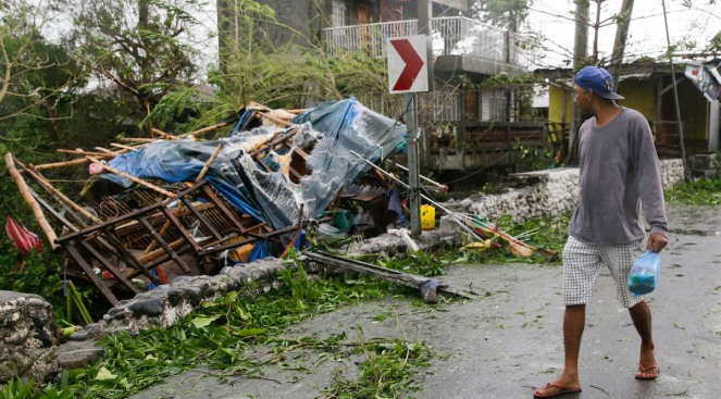 Typhoon Weakens to Tropical Storm After Plowing Into China