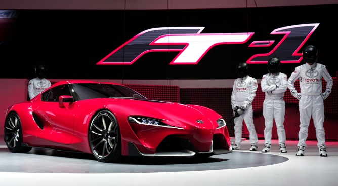 Toyota to Showcase FT-1 Concept Sports Car at Auto Show