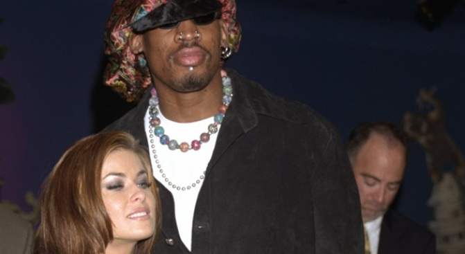 Rodman Ordered to Pay $500K in Child Support