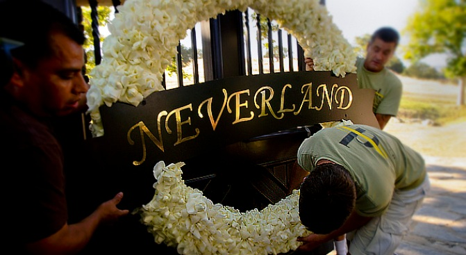Will Michael Jackson's Neverland Move To Las Vegas?