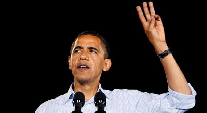 Rolling Up Obama's Shirtsleeves
