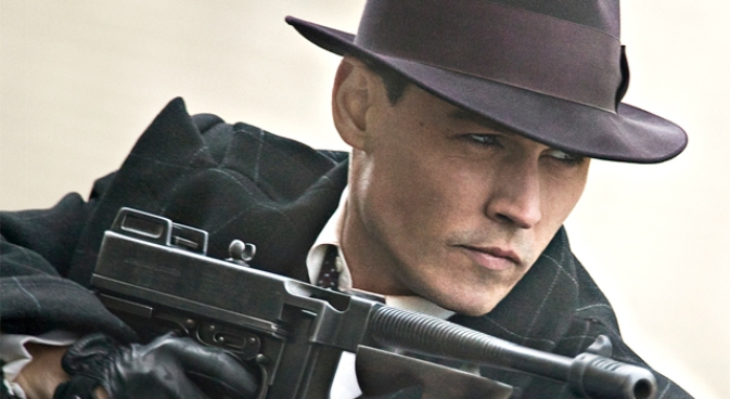 "Depp, Bale Work Crowd at ""Public Enemies"" Premier"