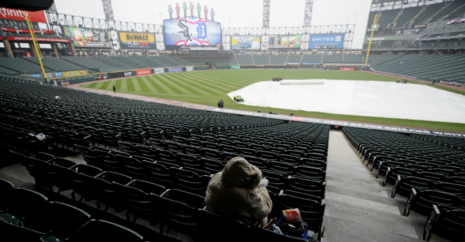 White Sox Game Postponed Amid Stormy Weather