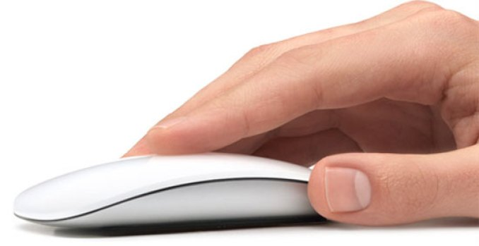 Apple's Magic Mouse at Work