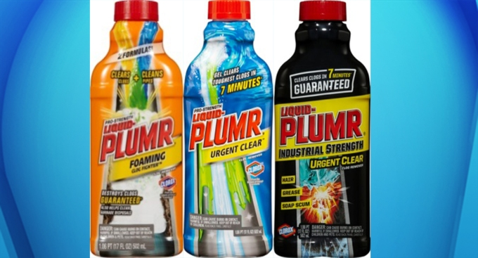 Liquid Plumr Recalled Over Faulty Child-Resistant Caps
