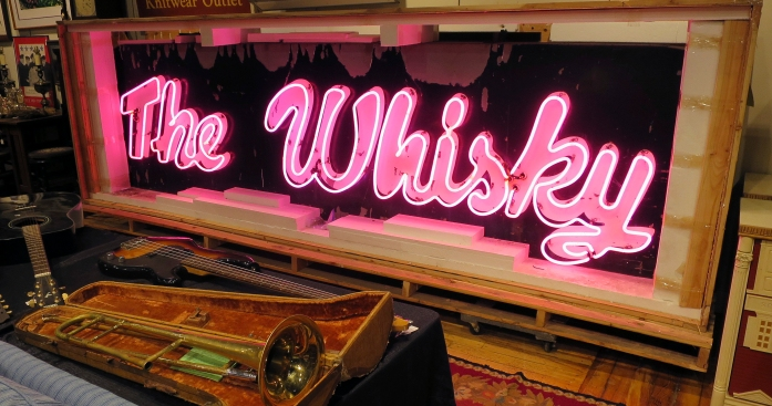Neon Piece of Rock 'N' Roll History Going Up for Auction