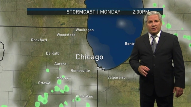 Cloudy Weekend Continues, Showers Possible