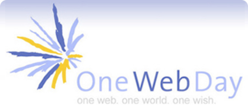 Third Annual One Web Day Starts Monday
