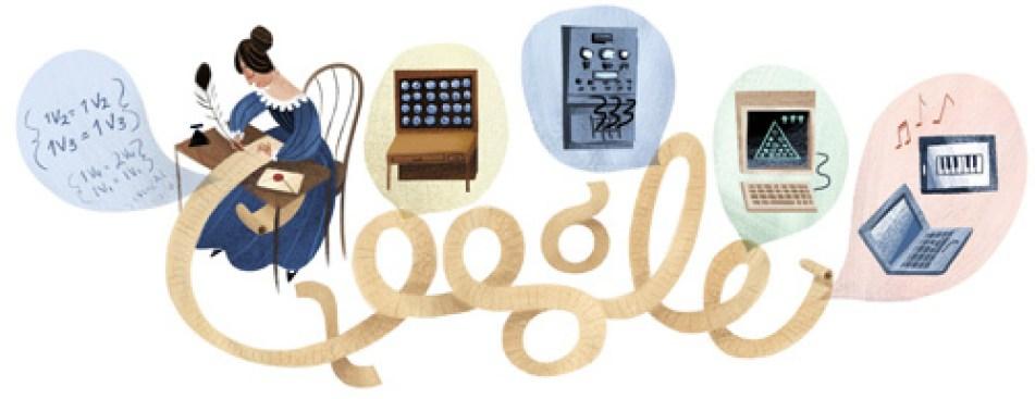 Google Doodle Celebrates First Computer Programmer