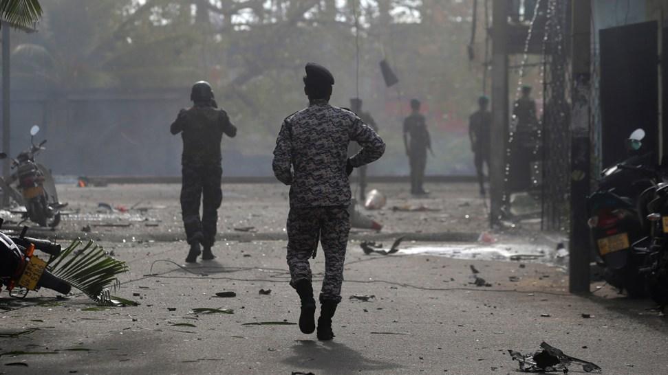 [NATL] Top News Photos: Easter Sunday Bombings in Sri Lanka Kill Hundreds