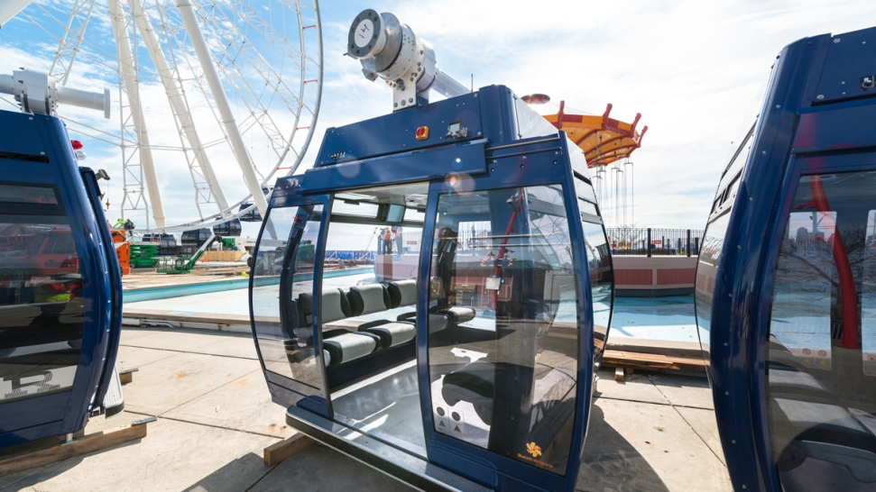 Mayor Emanuel and Navy Pier Kick-Off Fifth Third Bank Centennial Celebration® With Opening of New Centennial Wheel