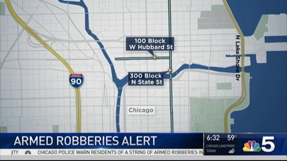Police Warn Of Daylight Armed Robberies In Chicago S River North