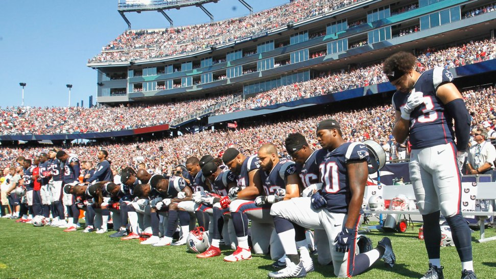 will any players take a knee on super bowl sunday