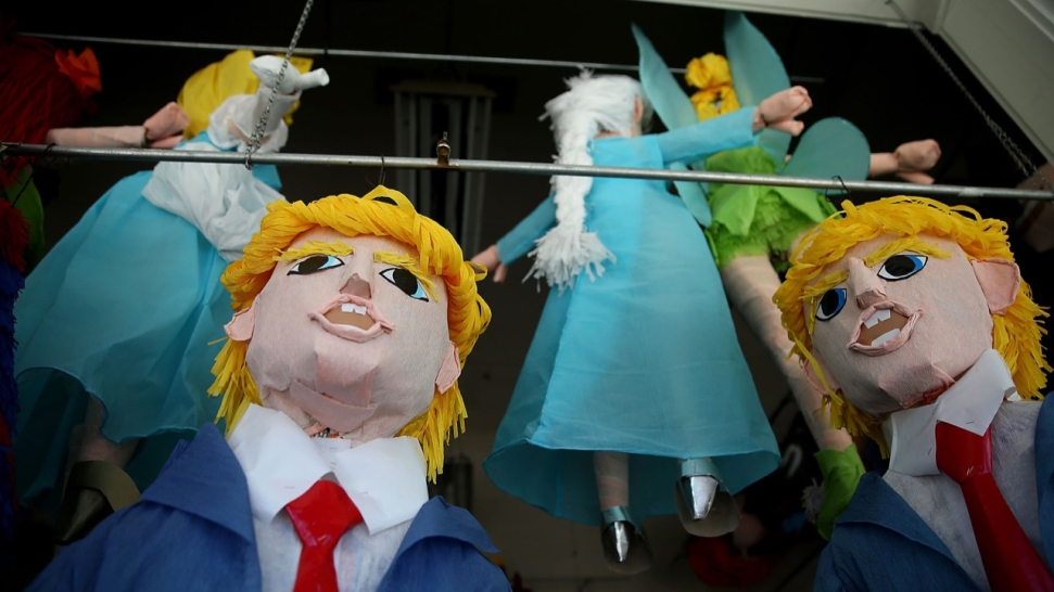 Donald Trump Piñatas Take Over San Francisco's Mission District