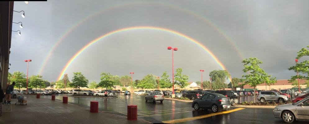 Viewer Photos: May 27 Rainbows