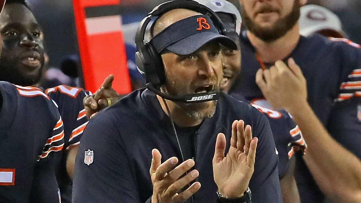 A Palatine Firefighter Named Matt Nagy Has Had His Life Change In Really Interesting Way Thanks To The Chicago Bears Iconic Coach Of Same Name