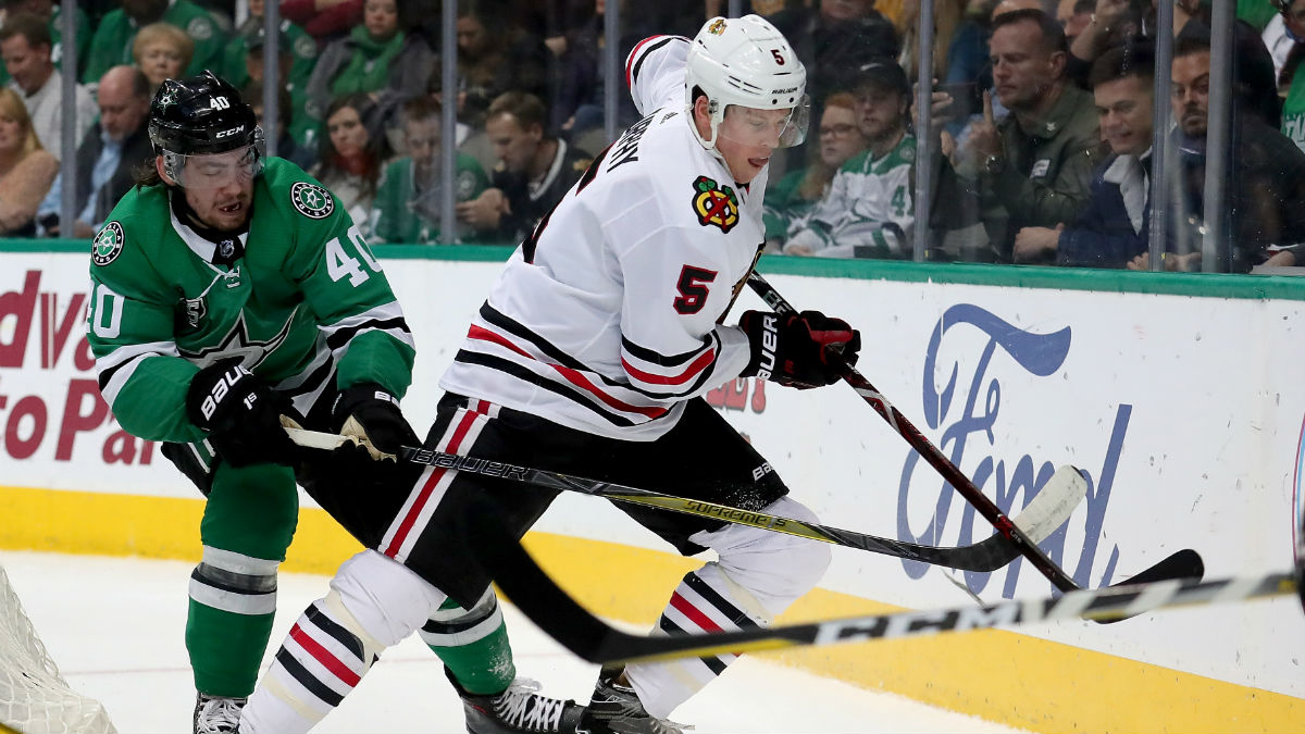 Murphy, Seabrook Out for Blackhawks as Camp Opens