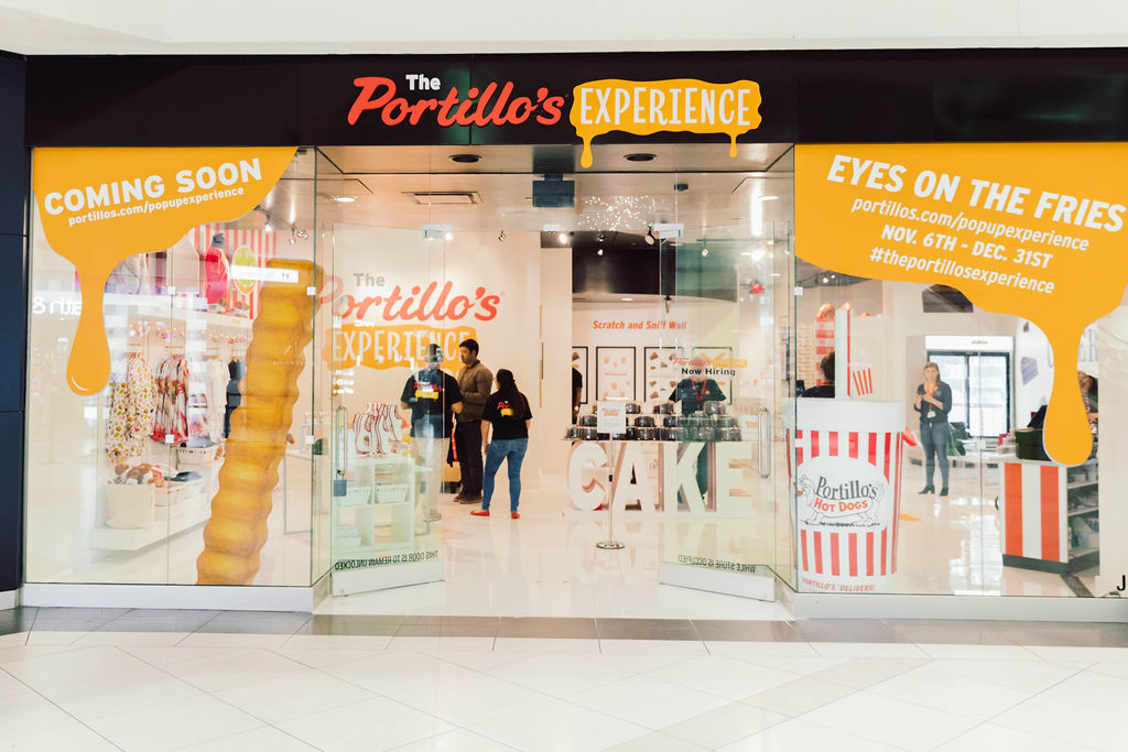 See Inside the Portillo's Pop-Up at Woodfield Mall
