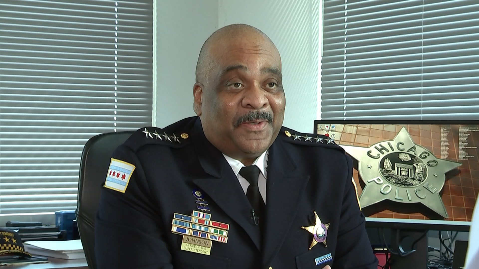 Supt. Eddie Johnson Says He's Not Done Working