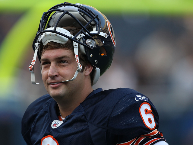 Why Jay Cutler Will Look Like Sid Luckman in a Throwback Uniform