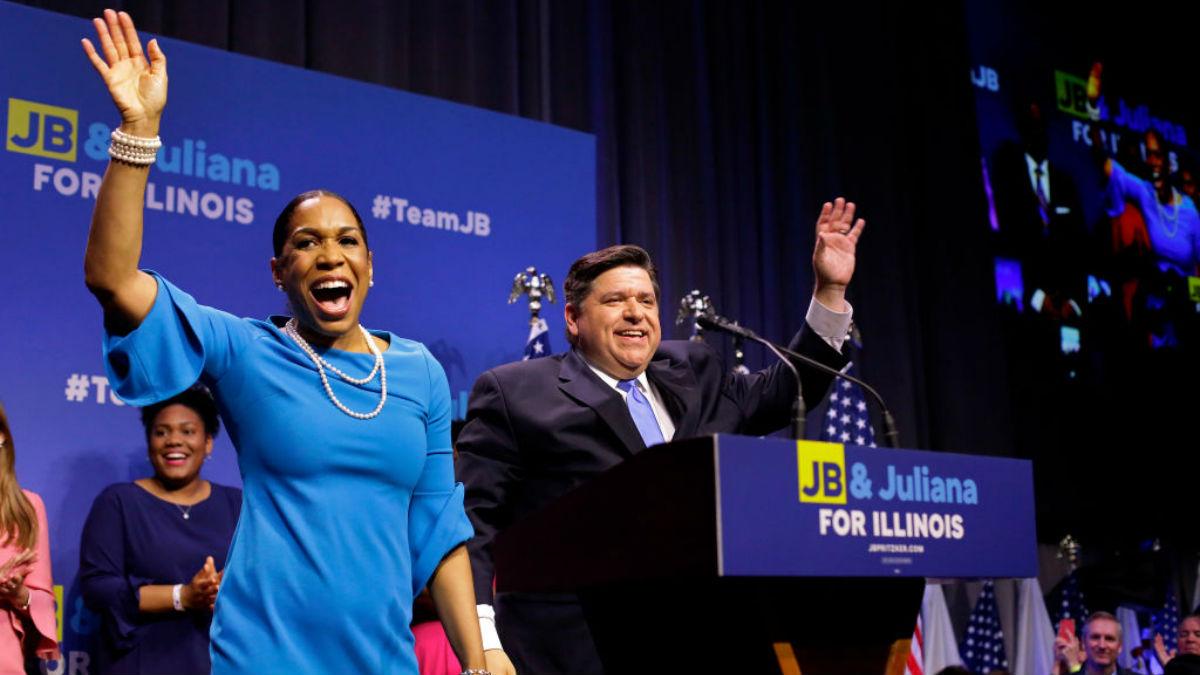 Juliana Stratton Sworn in as Illinois' First Black Lieutenant Governor