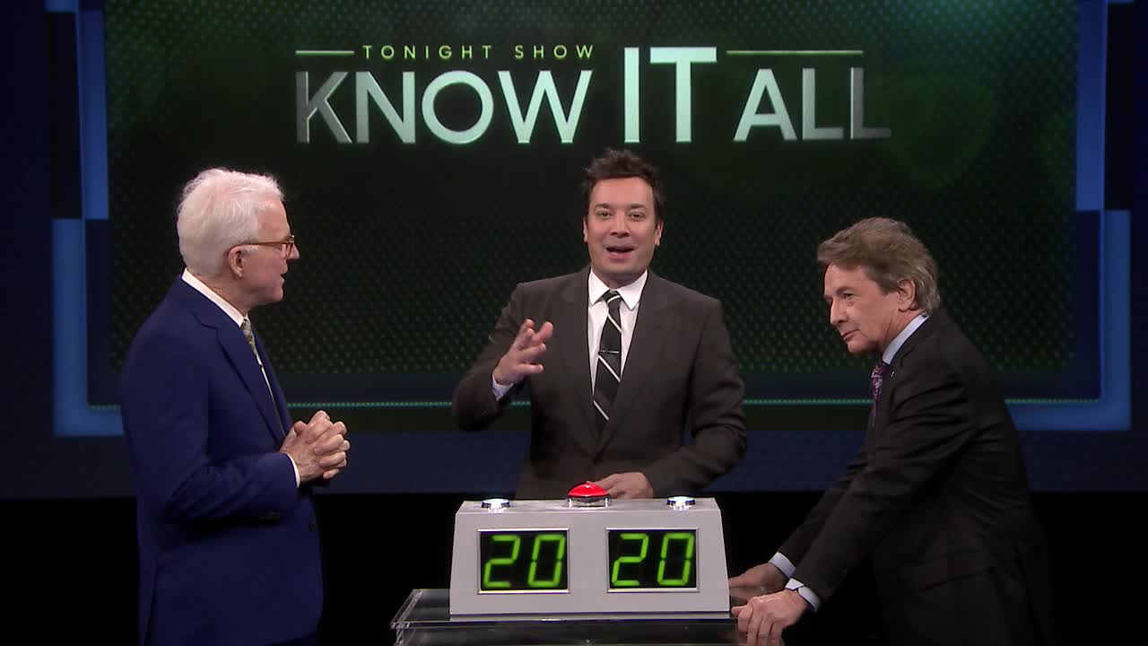 'Tonight': 'Know it All' With Steve Martin & Martin Short